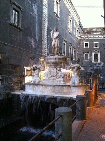 Fontana dell'Amenano : Fontana dell' Amenano