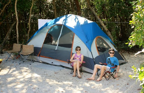 Key Largo Kampground and Marina: tent site