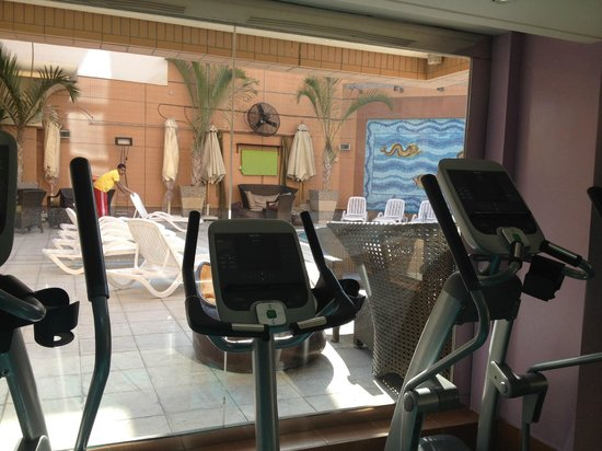 Holiday Inn - Citystars: View from gym