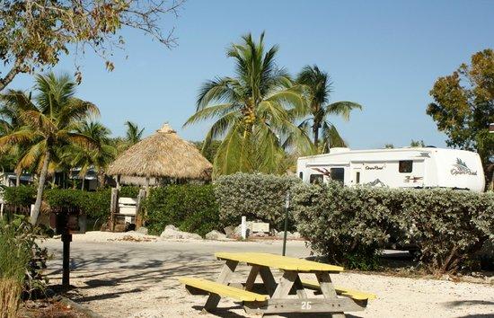 Key Largo Kampground and Marina: around the grounds