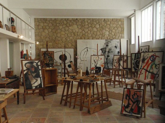 Pilar and Joan Miro Foundation in Mallorca : Creacioncity