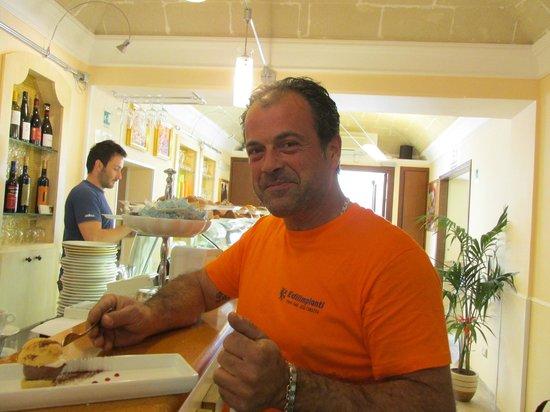 Grand Caffe Florio: Happy customer