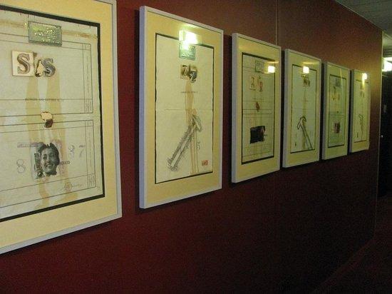 Art Hotel Olympic : Psillos a las habitaciones