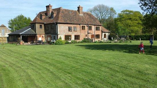 Stone Green Farm vanaf de tuin