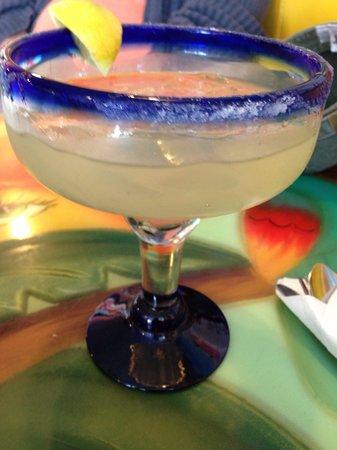 Marisco's La Playa: Partially drank margarita