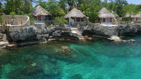View Of The Bungalows Picture Rockhouse Hotel Negril