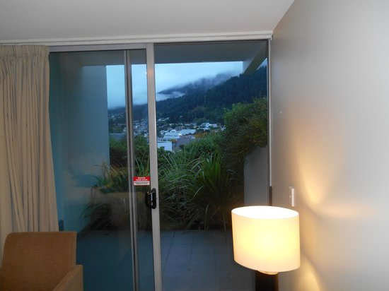 Scenic Suites Queenstown : And a view of the lake from the little patio.