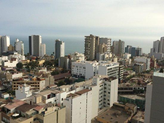 Dazzler Lima: Vista desde la terraza
