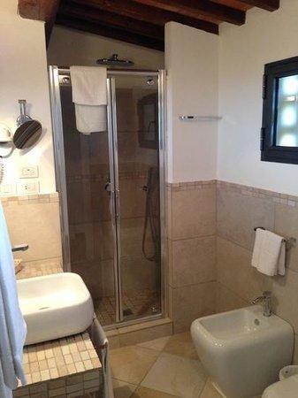 Villa I Barronci: salle de bain de la suite numero 7