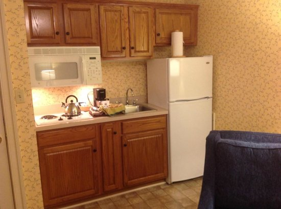 James Gettys Hotel: kitchen with everything you need