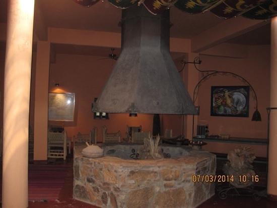 Hotel Tabarkat: salon romantico