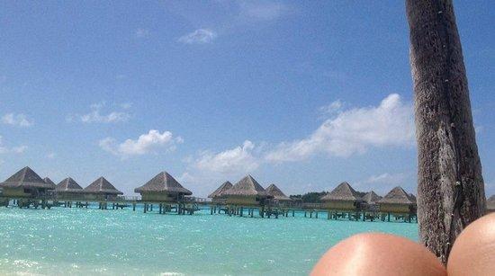 InterContinental Bora Bora Le Moana Resort : view from deck