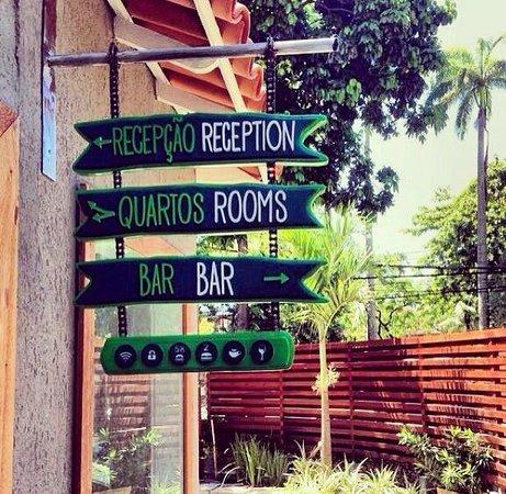 Botanic Hostel: Entrada do hostel