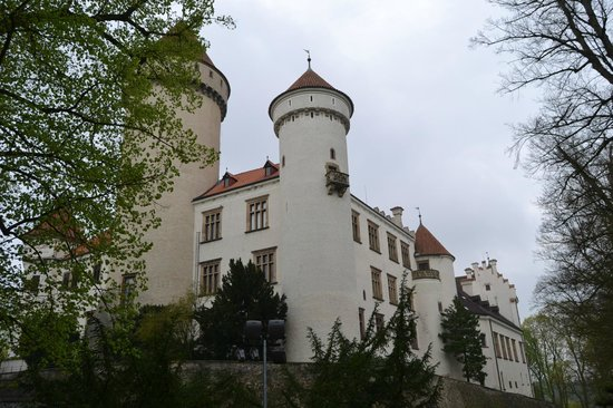 Konopiste Castle: Общий вид замка