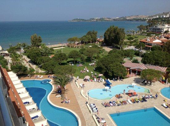 Batihan Beach Resort & Spa: Vueà partir du balcon de la chambre