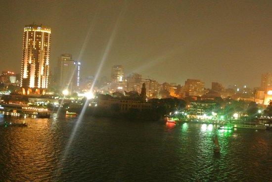 Kempinski Nile Hotel Cairo: Nile view