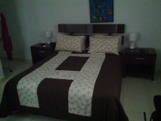 Hidden Eden Aruba: Very Cozy Bed