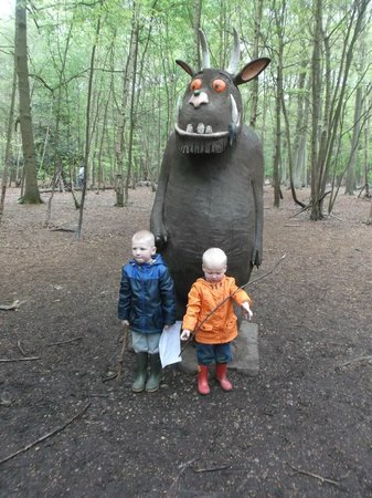 Thorndon Country Park - the gruffalo