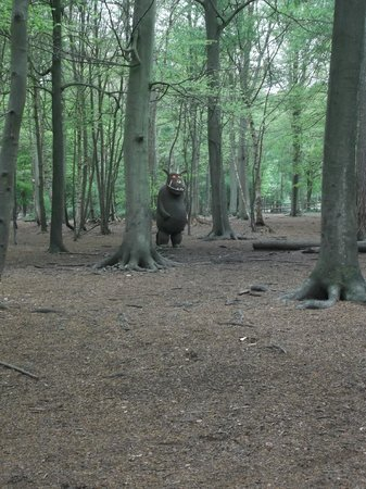 Brentwood, UK : Thorndon Country Park - the gruffalo
