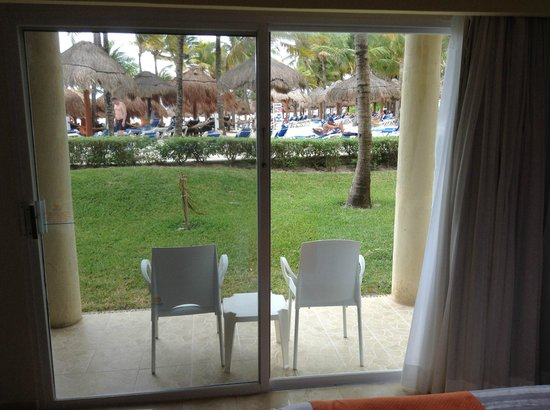 "Viva Wyndham Azteca : Our ""spectacular view"" from the Honeymoon Suite Room 1101"