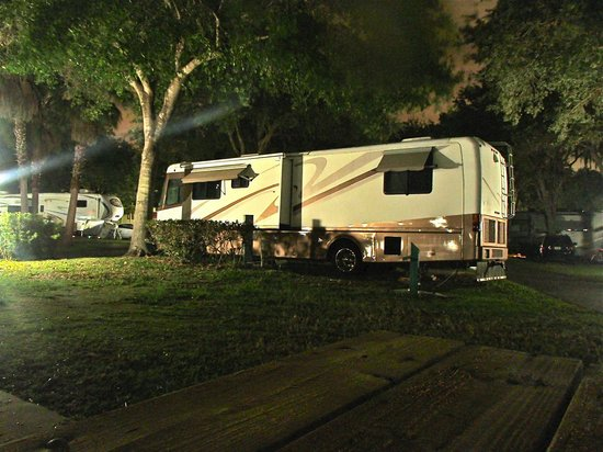 Cypress Cove Nudist Resort: Campsite
