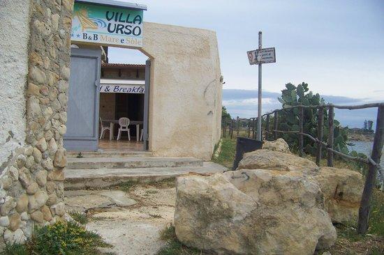 Villa Urso: entrata-uscita mare