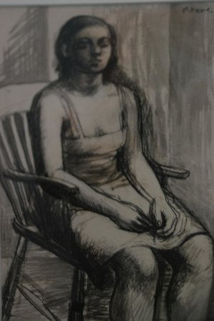 Sainsbury Centre for Visual Arts: Drawing by Henry Moore