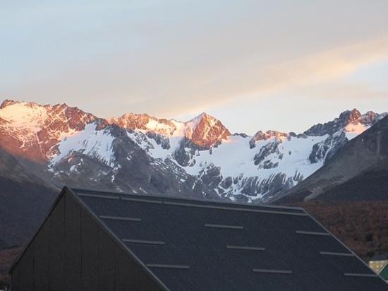 Lennox Hotels Ushuaia: vista da varanda