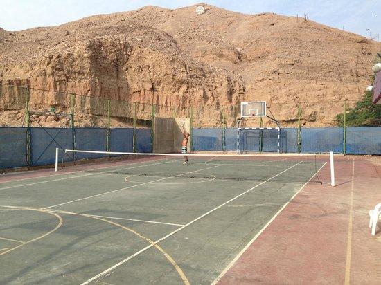 Hotel Prima Music: Tennis court