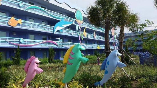 Disney's Art of Animation Resort: Decoração