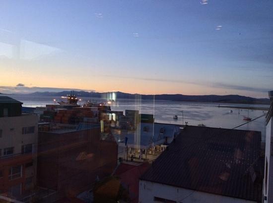Lennox Hotels Ushuaia: Durante o café da manhã...