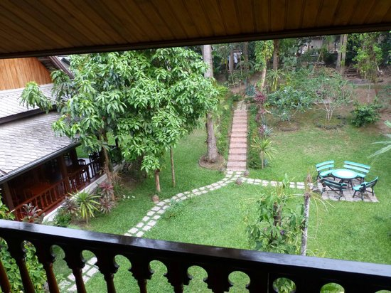 Villa Chitdara : lovely view from !st floor room