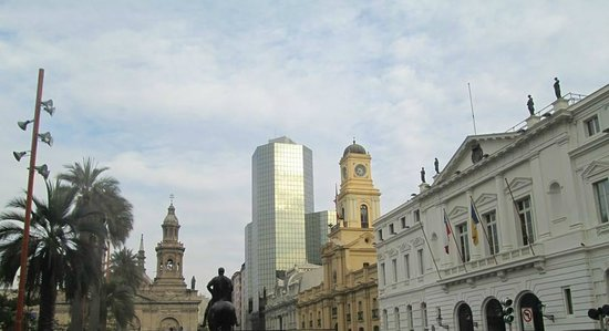 Plaza de Armas: historico e o moderno