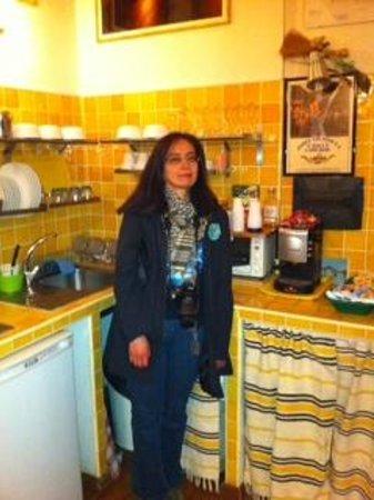 Bed & Breakfast Angolo Romano: Breakfast common area