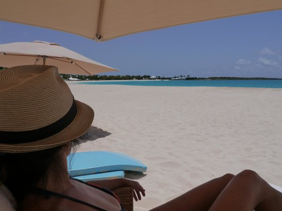 Cap Juluca: View from the sunchair