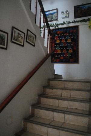 Samanapata Comfort Hostel: Arte Andino!