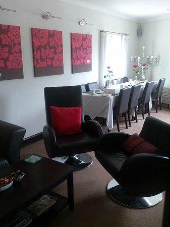 Aaron Glen: Dining room.