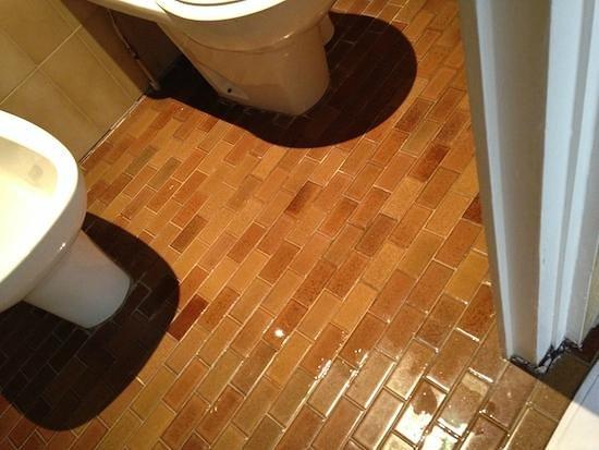 B4 Lyon: Bagno allagato dopo la doccia...il vetro è senza guarnizione