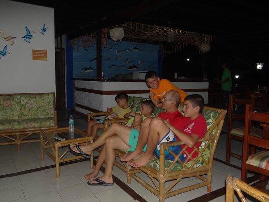 Playa de Oro Lodge : Comedor