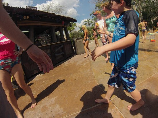 Disney's Typhoon Lagoon Water Park: Skip the Turkey legs if you want to fit into your swimsuit.