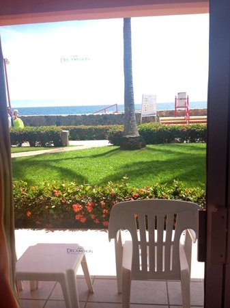 Royal Decameron Complex: This is the view from a room in Block One