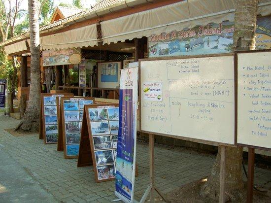 Koh Kho Khao Resort: Экскурсии