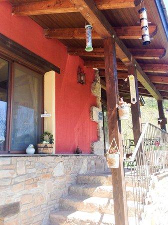 Hotel La Casa del Rio: La entrada