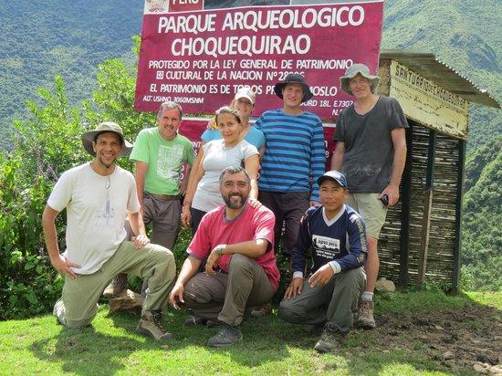 Apus Peru: Unsere Gruppe
