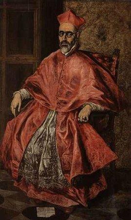 Museo de Santa Cruz: Великий инквизитор (Retrato del Cardinal)