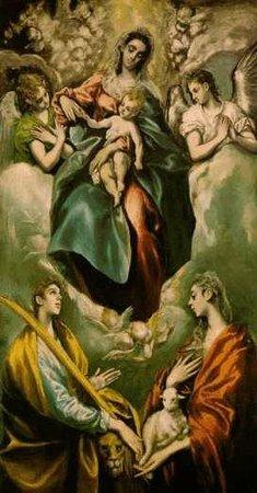 Museo de Santa Cruz: Virgen con niño