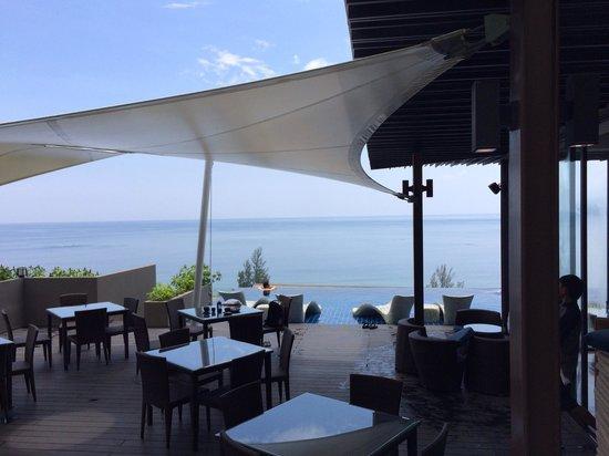 Hyatt Regency Phuket Resort: リージェンシークラブのテラス