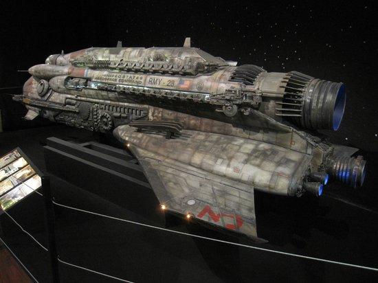 Musee Miniature et Cinema: Miniatura de nave espacial
