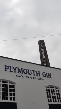 Plymouth Gin Distillery: View from the outside