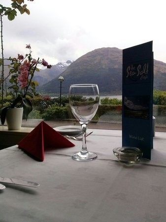 The Lodge On The Loch : Sea salt cafe